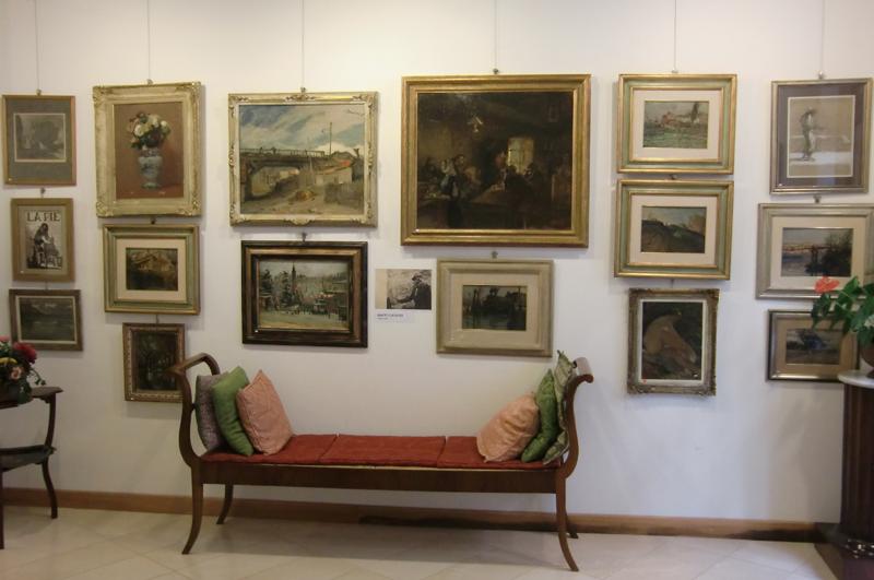 Il cenacolo artistico forlivese alla galleria farneti for Il cenacolo bagno di romagna