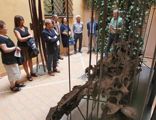 Presentata la scultura di Germano Sartelli esposta alla Biennale del 1964